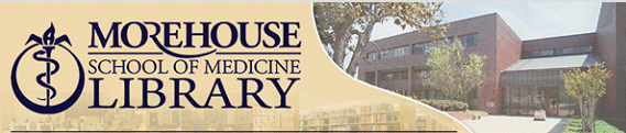 Morehouse School of Medicine Library Logo